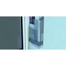 Rohový hliníkový profil s výstužnou tkaninou, dĺžky 2,5 m
