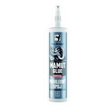 Lepidlo Den Braven Mamut Glue CRYSTAL transparentný, 290 ml