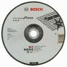 Rezací kotúč s prelisom na nehrdzavejúcu oceľ Bosch Standard for Inox, priemer 230 mm (25ks/obj)