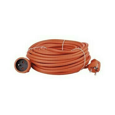 Kábel predlžovací PVC oranžový 20 m