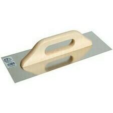 Nerezové hladké hladidlo 360x130 mm