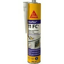 Polyuretanové lepidlo a tesniaca hmota SIKA PU SIKAFLEX 11 FC+ šedá, 300 ml