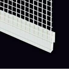 Okapnička PVC k soklovým profilom, dĺžky 2,5 m