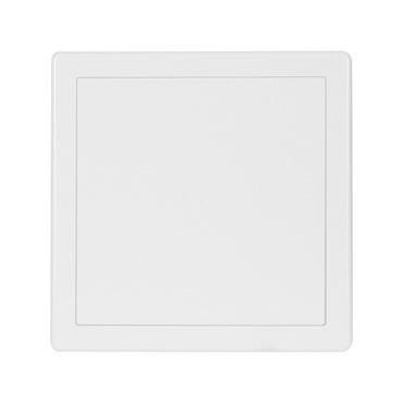 Vaňové plastové dvierka HACO VD 200×200 mm biele