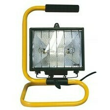 Reflektor halogénový 500 W s madlom