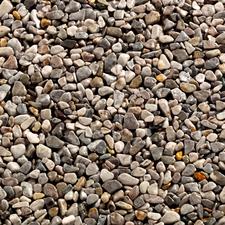 Topstone mramorový kamienok Grigio Occhialino, frakcia 4-7mm, 25kg