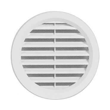 Vetracia mriežka kruh HACO VM 110 mm biela