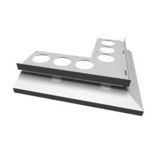 Roh k odkvapu DRIP PLUS 20 mm, šedý