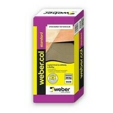 Lepiaca malta na obklady a dlažby Webercol standard C1T, 25kg