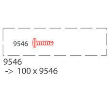 Nerezová skrutka TWINSON 13mm (100ks/bal) 9433