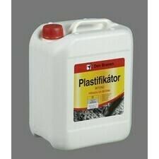 Plastifikátor betónov Den Braven, 5l kanyster