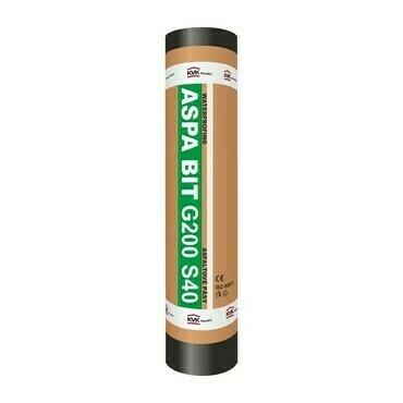 Oxidovaný asflaltovaný pás ASPA BIT G200 S40 (7,5 m2 v rolke)