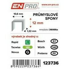 Spony PROFI 345/08 mm ENPRO 5000 ks/bal.