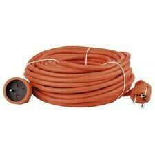 Kábel predlžovací PVC oranžový 30 m