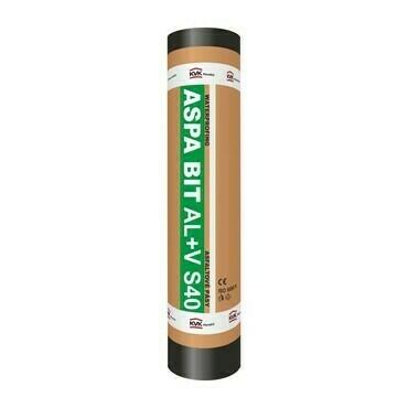 Oxidovaný asfaltovaný pás ASPA BIT AL+V S40