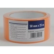 Stavebná páska ochranná 50 mm×25 m, oranžová