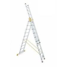 Rebrík hliníkový univerzálny ALVE Forte 8614 3×14