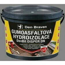 Gumoasfaltová hydroizolácia Den Braven DenBit DISPER DN, 5 kg