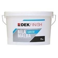 Maliarska farba interiérová biela DEKFINISH špeciál 15 kg
