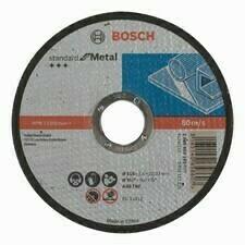 Rovný rezný kotúč na kov Bosch Standard for Metal, priemer 115 mm (25ks/obj)
