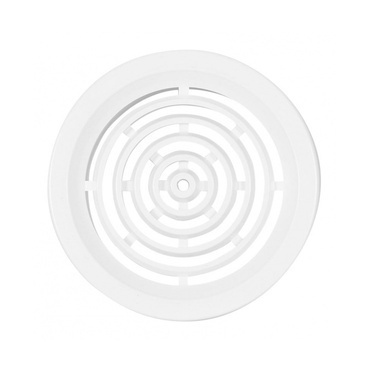 Vetracia mriežka kruh HACO VM 50 mm biela