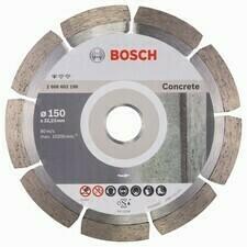 Diamantový rezací kotúč na betón Bosch DIA Standard for Concrete, priemer 150 mm (1ks/obj)