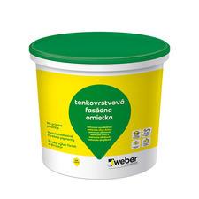 Tenkovrstvová roztieraná pastovitá omietka Weberpas clean active 1,5 mm, 30 kg