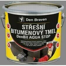 Strešný bitúmenový tmel Den Braven DenBit AQUA STOP, 3 kg
