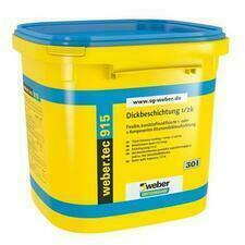 Bituménová hydroizoláciaWebertec 915, 30 l