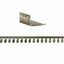 Hliníková lišta 10 mm tvaru L, dĺžky 2,5 m