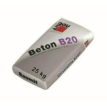 Betónová zmes Baumit Betón B20, 25 kg