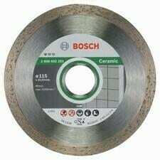 Diamantový rezací kotúč na keramiku Bosch DIA Standard for Ceramic, priemer 115 mm (1ks/obj)