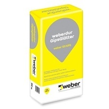 Sadrovo-vápenná omietka pre vnútorné použitie Weberdur gipsglätter, 30 kg