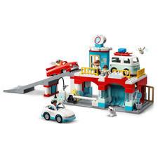 LEGO® DUPLO Garáž a umyváreň pre autá