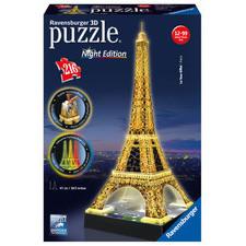 Eiffelova veža (Nočná edícia) 216 dielikov