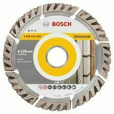Univerzálny diamantový rezací kotúč Bosch DIA Standard for Universal, priemer 125 mm