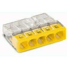 Svorka krabicová 5x2,5 mm2, WAGO 2273-205
