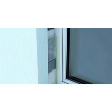 Začisťujúci okenný profil s výstužnou tkaninou, dĺžky 2,5 m
