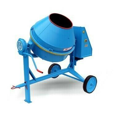 Spádová miešačka BWA-150/230V, 1,5 kW, príkon 1500 W