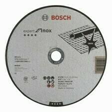 Rovný rezný kotúč na nehrdzavejúcu oceľ Bosch Expert for Inox, priemer 230 mm (25ks/obj)