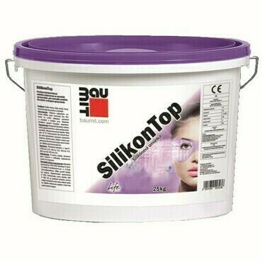 Silikónová škrábaná omietka Baumit SilikonTop 1,5 mm, 25 kg