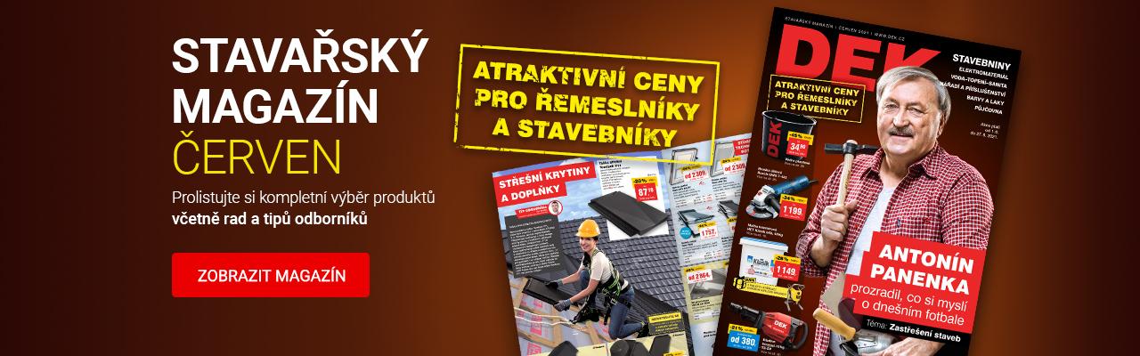 Červnový stavařský magazín