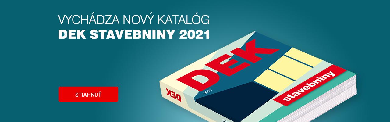Katalóg DEK 2021