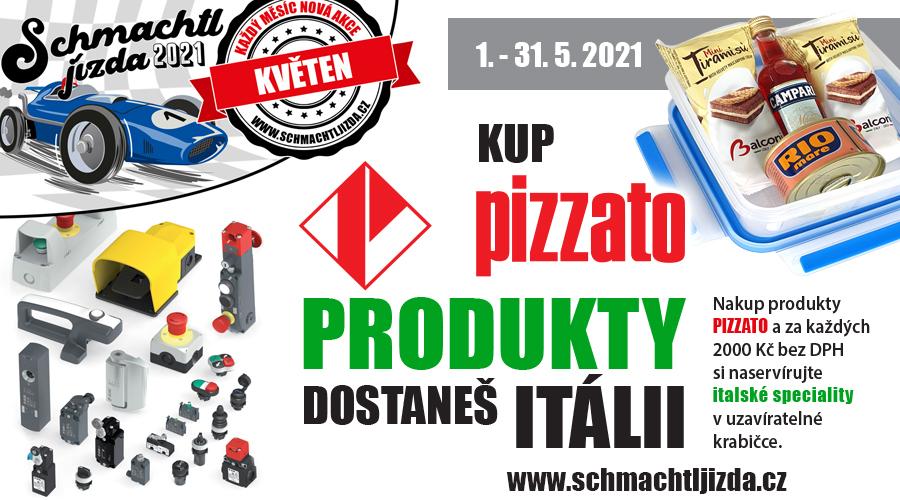 Kup PIZZATO produkty, dostaneš ITÁLII