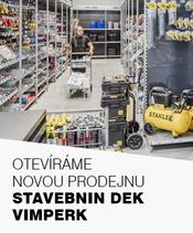 Nová prodejna Stavebnin DEK Vimperk