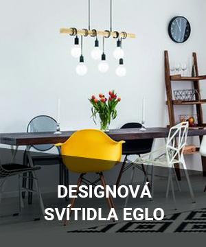 Nově designová svítidla EGLO na www.dek.cz