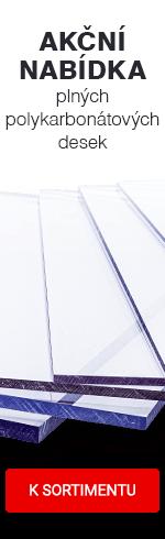 Polykarbonátové desky plné