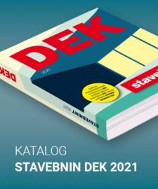Katalog stavebnin DEK 2021