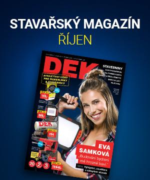 Nahlédněte do říjnového Magazínu sEvou Samkovou