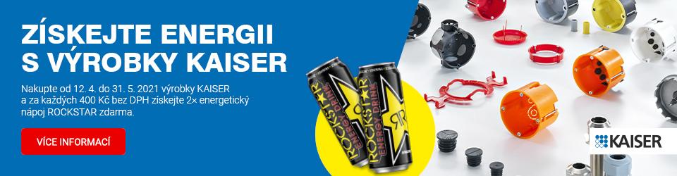 Získejte energii s výrobky KAISER